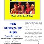 California Dreaming, Music of the Beach Boys 2015