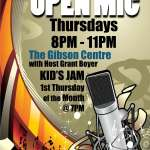 Open Mic Night - June 25, 2015