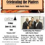 Celebrating The Platters - June 12, 2015