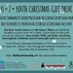 U 2 Youth Christmas Gift Drive - 2015