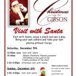 Christmas at The Gibson - Visit with Santa