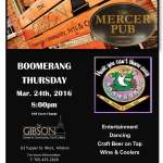 Pub Night with Boomerang - March 24th