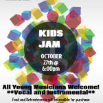 KIDS JAM - Oct 27th