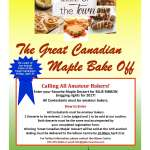 The Great Canadian Maple Bake Off
