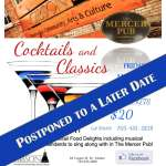 Cocktails and Classics in the Pub - POSTPONED