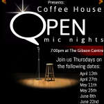 Coffee House Open Mic - June 8th