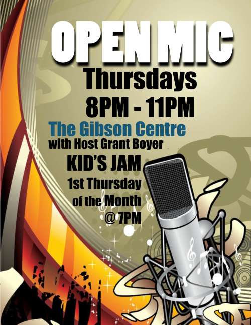 Open Mic Feb 12th