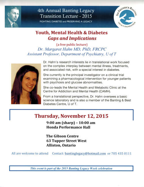 """Youth, Mental Health & Diabetes - Gaps and Implication"""