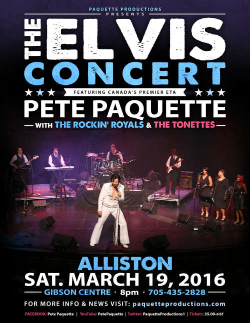 The Elvis Concert - SOLD OUT