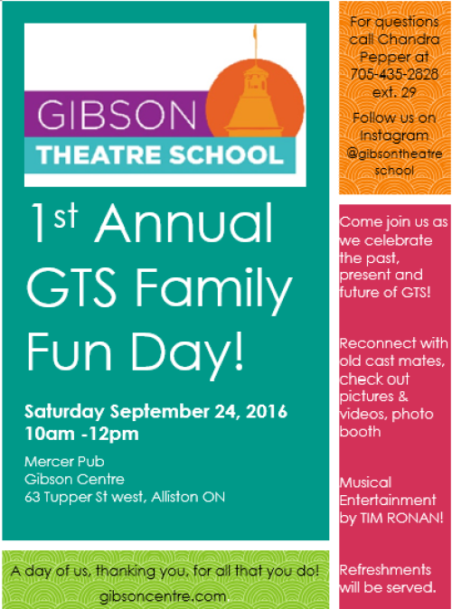1st Annual GTS Family Fun Day