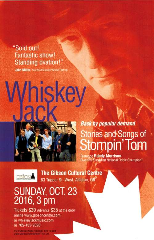 Whiskey Jack performs Stompin