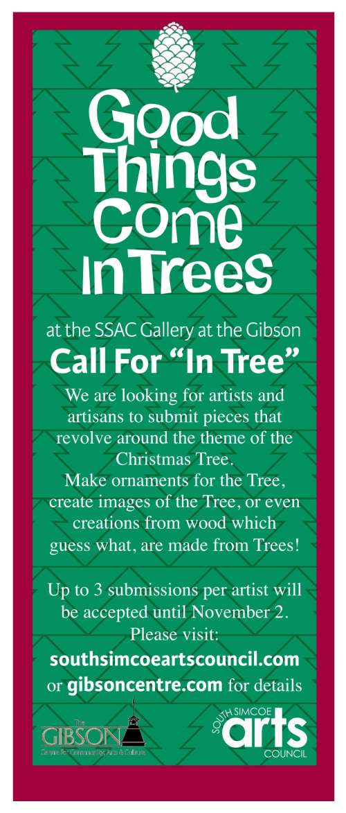 Good Things Come In Trees - Call for Entry