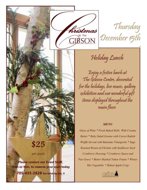 Christmas At The Gibson Holiday Lunch 2016