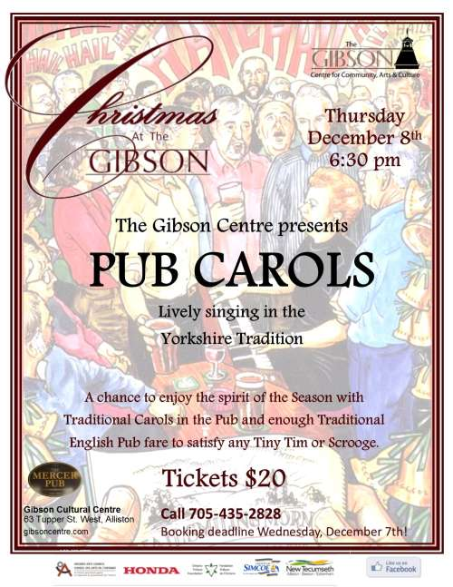 Pub Carols in the Yorkshire Tradition