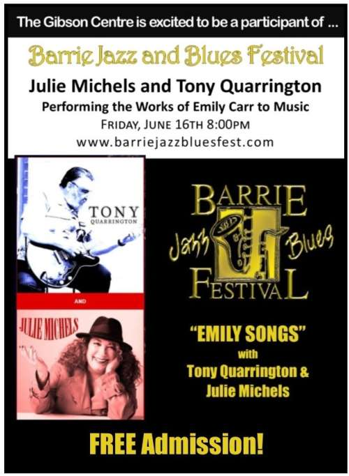 """EMILY SONGS"" - Free Admission"