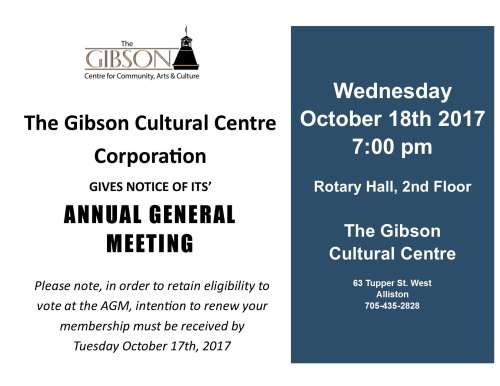 Annual General Meeting - 2017