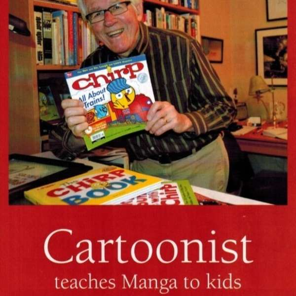 Youth Arts Workshop with Bob Kain, Cartoonist 2015