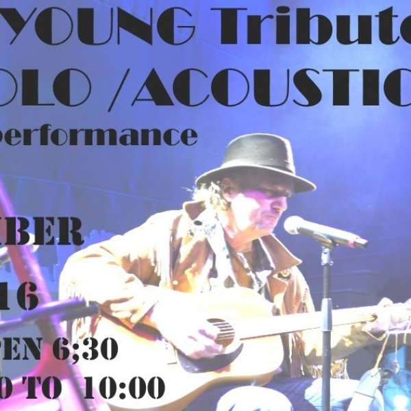Neil Young Tribute - September 23rd