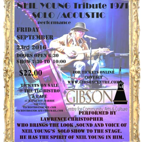 Neil Young Tribute - Sept 23rd