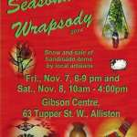 Seasonal Wrapsody Show and Sale