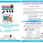 2015 Summer Theatre Programs