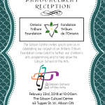 Ontario Trillium Foundation Announcement Reception