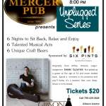 Mercer Pub Unplugged with Shane Cloutier