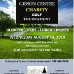 12th Annual Gibson Centre Charity Golf Tournament