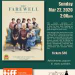 "Tiff Films on Screen presents ""The Farewell"" - Postponed"