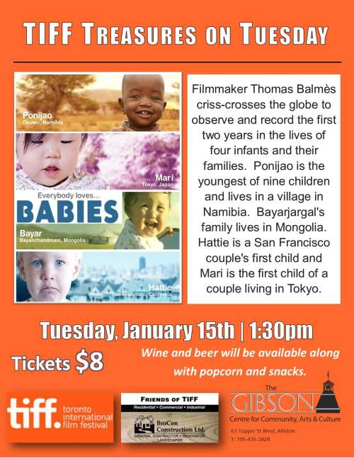"TIFF Treasures on Tuesday presents ""Babies"""