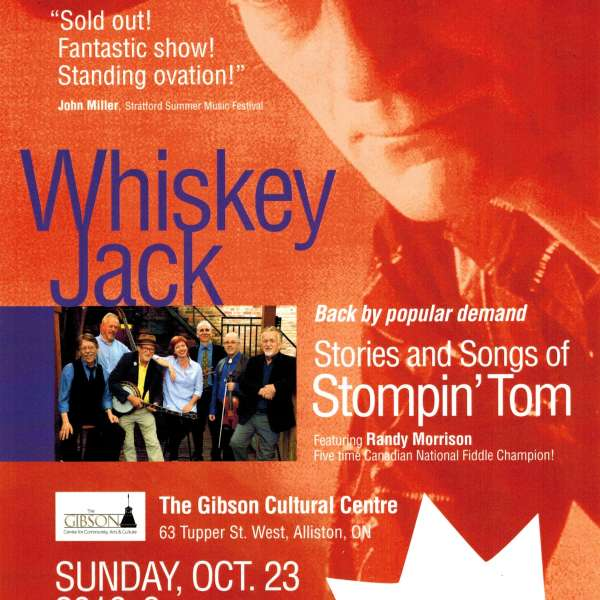 Whiskey Jack - Oct 23rd, 2016 at 3pm