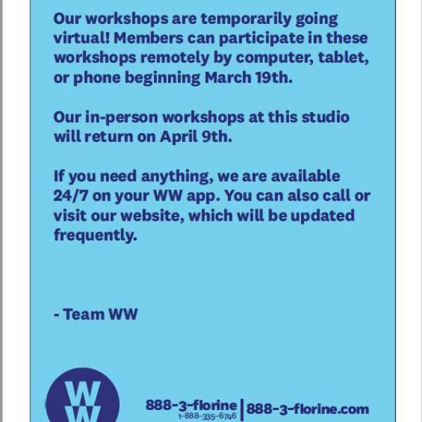 Message from Team WW